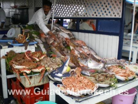 Restaurantes de pescado en Essaouira